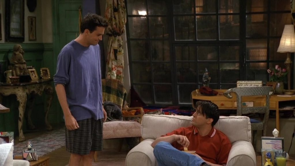 07 Joey & Chandler
