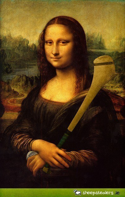 Mona Lisa played hurling by Alan O' Rourke / Flickr
