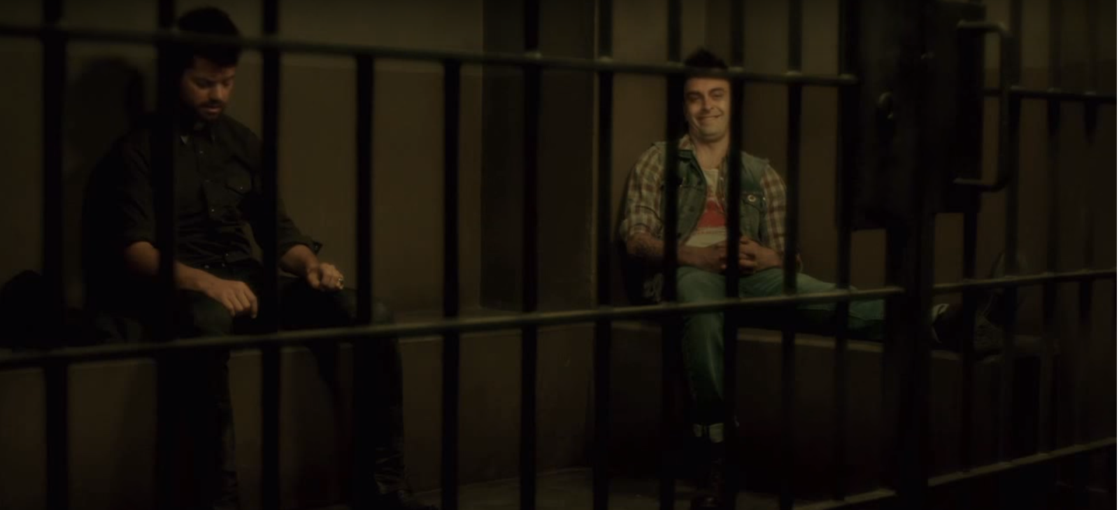Jesse and Cassidy in Jail