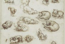 Art - Hamburgers N'Heroin - Exhibition: Da Vinci – Ten Drawings from the Royal Collection