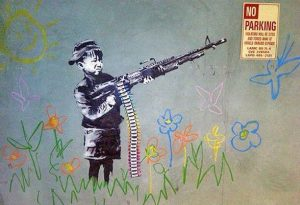 Banksy Child Soldiers