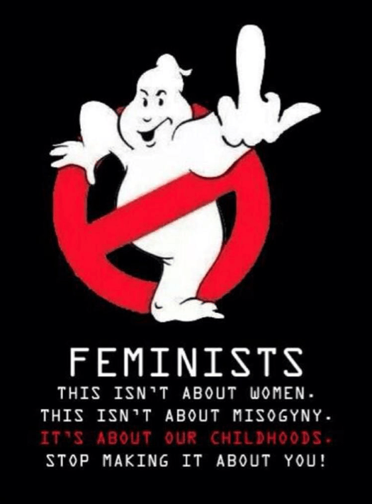 Ghostbusters sexist assholes