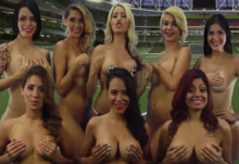 NSFW - Hamburgers N'Heroin - Venezuelan News Team Strip Naked To Support Team In Copa America