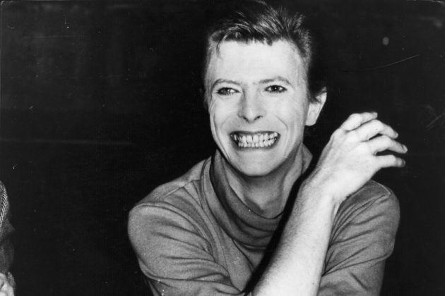 October 1980: Rock singer David Bowie takes a break from his current project; playing the title role in a broadway play based on the life of John Merrick, the hideously deformed ' Elephant Man'. Bowie uses mime to convey the character's deformity, rather than relying on elaborate make-up. The play has opened to critical acclaim, with Bowie's performance in particular receiving praise. (Photo by Keystone Features/Getty Images)