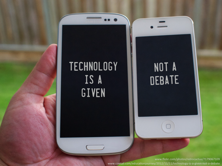 Technology is a given by Scott McLeod / Flickr