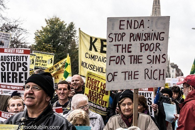 Anti-Austerity Protest in Dublin by William Murphy / Flickr