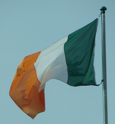 Irish Flag by Michelle / Flickr